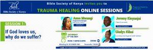 Bible Society of Kenya Trauma Healing Poster